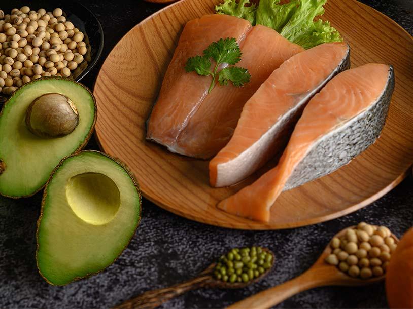 Dieta Keto o Cetogénica. Un menú bajo en carbohidratos..